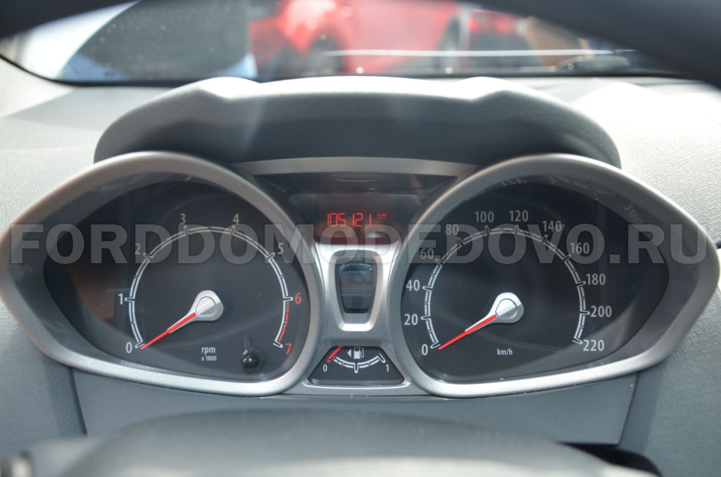 Dashboard Ford Fista 2008