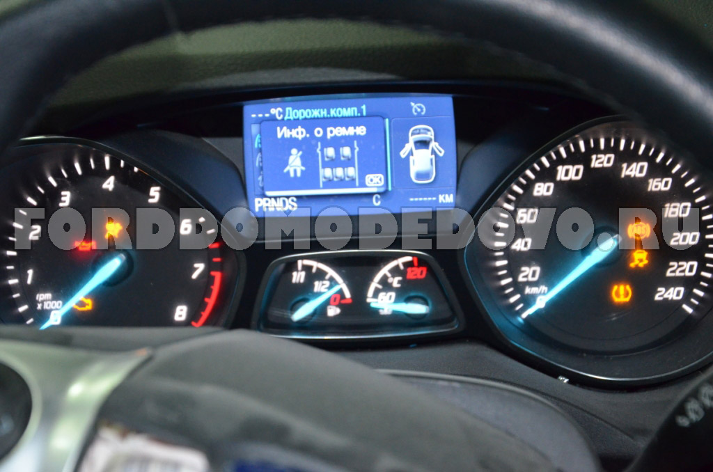 Dashboard ford kuga